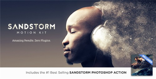 SandStorm Motion Kit - After Effects Script (Videohive)