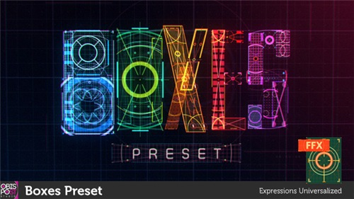 Boxes Preset - After Effects Preset (Videohive)