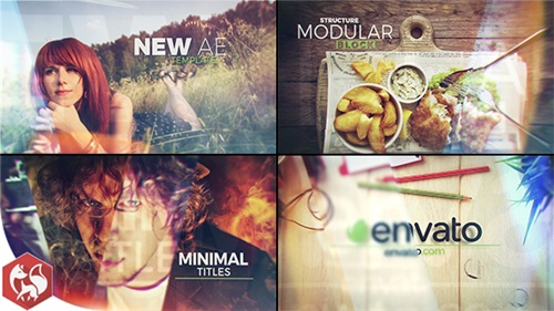 Glass Slideshow Titles - After Effects Project (Videohive)