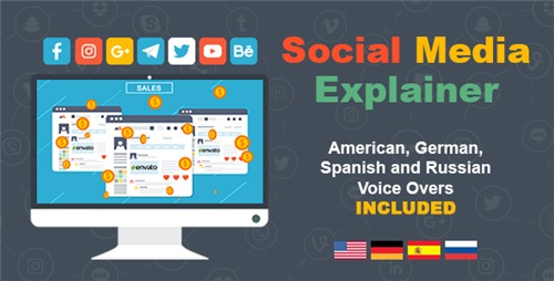 Social Media Explainer - After Effects Project (Videohive)
