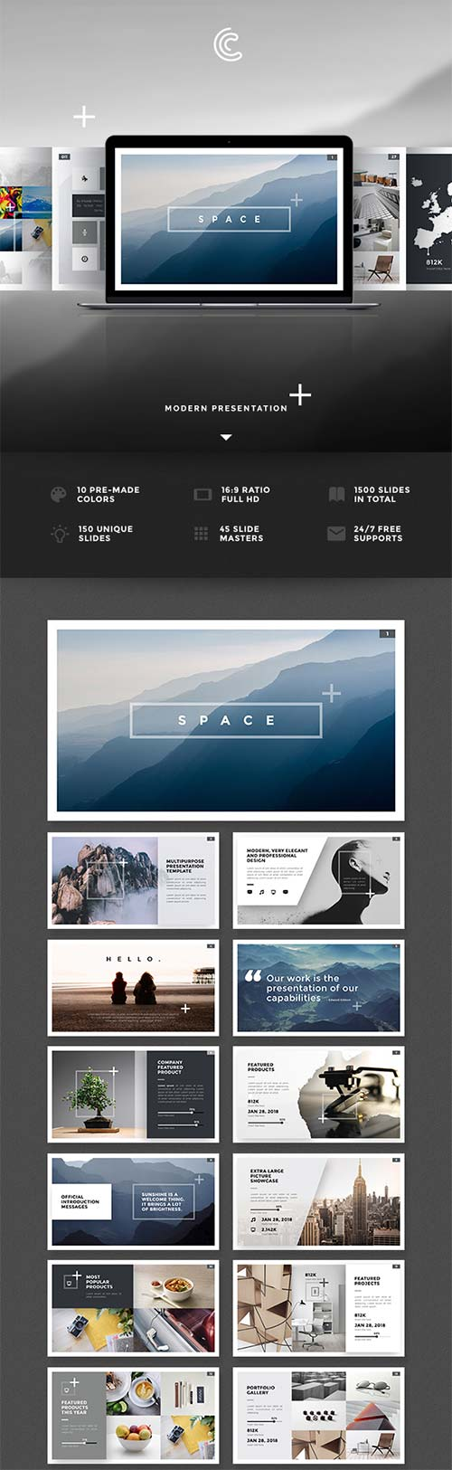 GraphicRiver Space PowerPoint