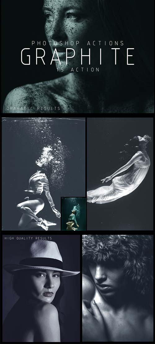 GraphicRiver Graphite Photoshop Actions