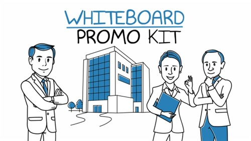 Whiteboard Promo Kit - After Effects Project (Videohive)