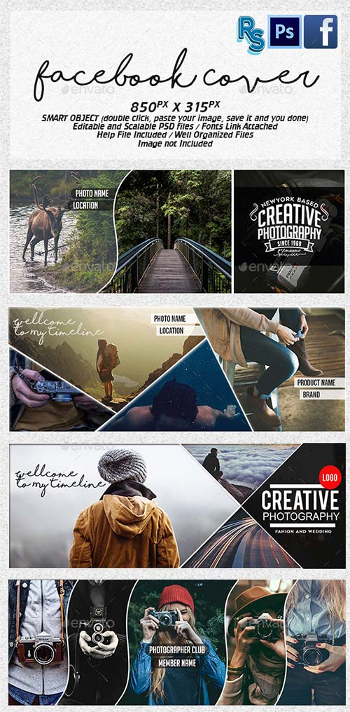 GraphicRiver Facebook Photography