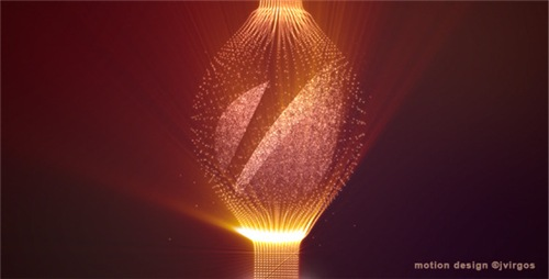 Shiny Logo With Elegant Fine Particles - After Effects Project (Videohive