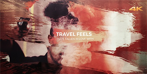 Travel Feels - Brush Slideshow - After Effects Project (Videohive)