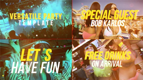 Versatile Party - After Effects Project (Videohive)