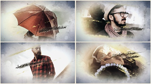 Vintage Slideshow - After Effects Project (Videohive)