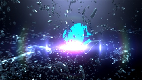 Liquid Splash Logo Reveal II - After Effects Project (Videohive)