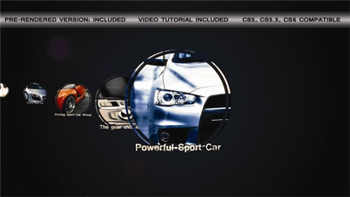 Sport Car Slideshow - After Effects Project (Videohive)