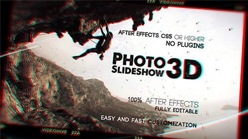 Photo Slideshow 3D - After Effects Project (Videohive)