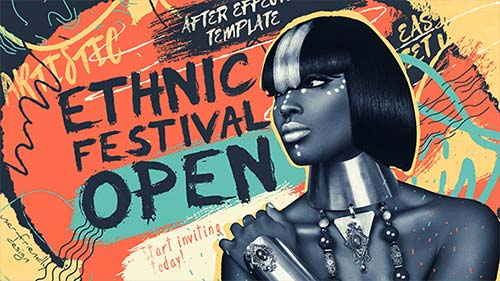 Ethnic Festival Open - After Effects Project (Videohive)