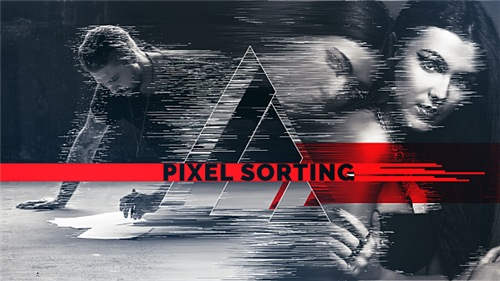 Pixel Sorting Slideshow - After Effects Project (Videohive)