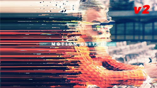 Fast Motion Glitch Slideshow - After Effects Project (Videohive)