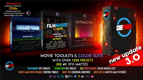 CINEPUNCH Master Suite - After Effects Preset (Videohive)