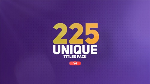 The Titles - After Effects Project (Videohive)
