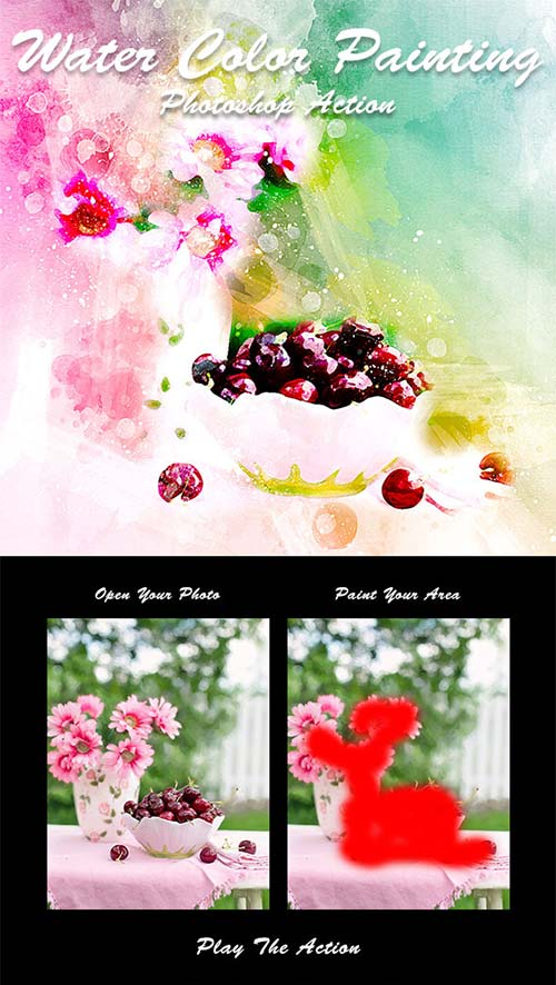 GraphicRiver Water Color Painting