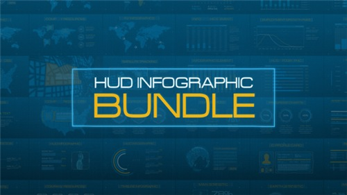 HUD Infographic Bundle - After Effects Project (Videohive)