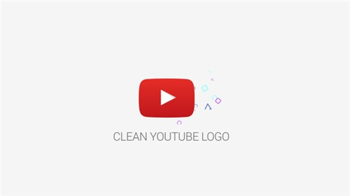 Clean Youtube Logo - After Effects Project (Videohive)