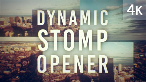 Dynamic Stomp Opener - After Effects Project (Videohive)