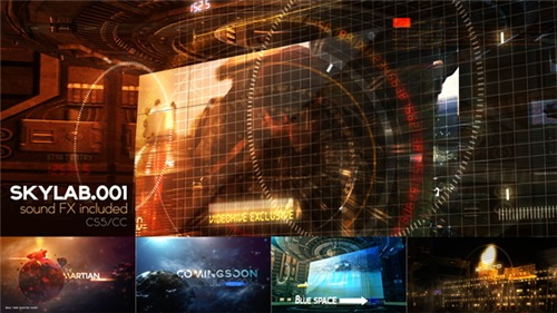 SKY LAB 001 - After Effects Project (Videohive)