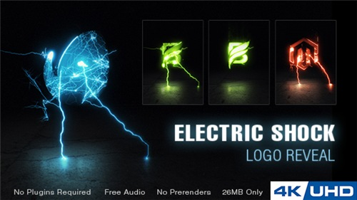 Electric Shock Logo Reveal - After Effects Project (Videohive)