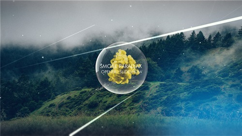 Smoke Parallax Opener I Slideshow - After Effects Project (Videohive)