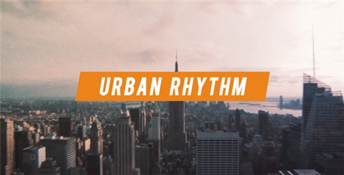 Urban Rhythm | Modern Opener - After Effects Project (Videohive)