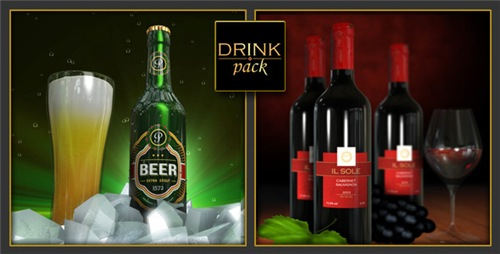 Drink Pack 2-in-1 - After Effects Project (Videohive)
