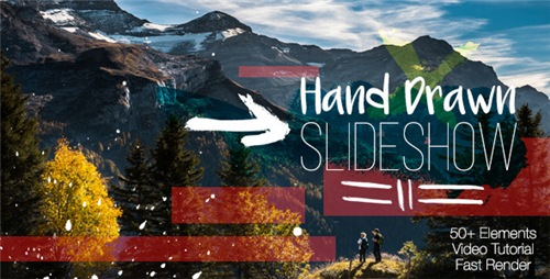Hand Drawn Slideshow 12204136 - After Effects Project (Videohive)