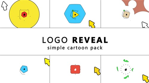 Simple Cartoon Logo Reveal - After Effects Project (Videohive)