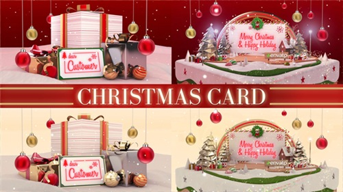 Christmas Card - After Effects Project (Videohive)