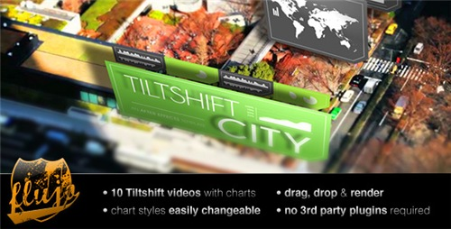 Tilftshift City - After Effects Project (Videohive)