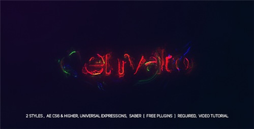 Electric Glitch Logo - After Effects Project (Videohive)