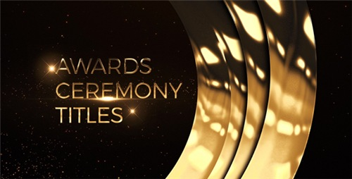 Awards Ceremony Titles - After Effects Project (Videohive)