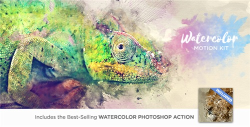 Watercolor Motion Kit - After Effects Script (Videohive)