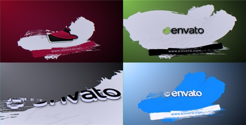 Brush Logo Reveal - After Effects Project (Videohive)