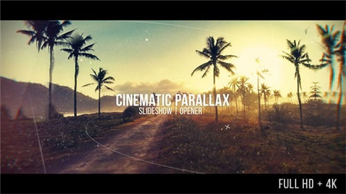Cinematic Parallax Slideshow - After Effects Project (Videohive)