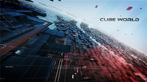 CubeWorld - After Effects Project (Videohive)