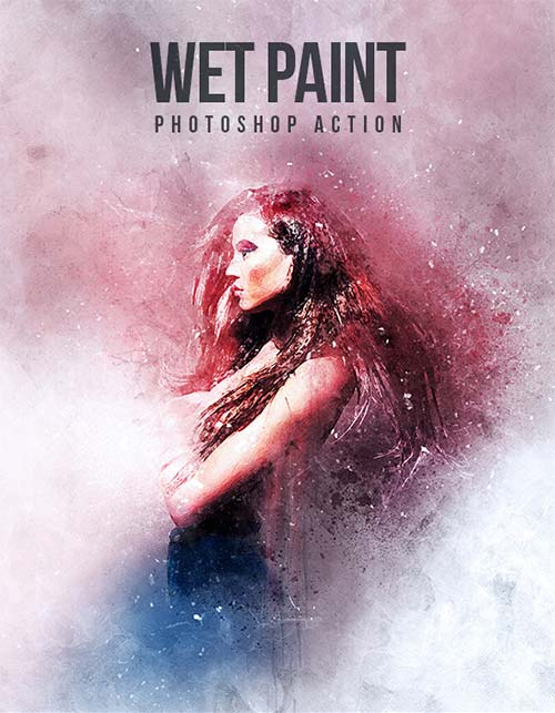 GraphicRiver WetPaint - Photoshop Action