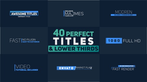 Titles 21042915 - After Effects Project (Videohive)