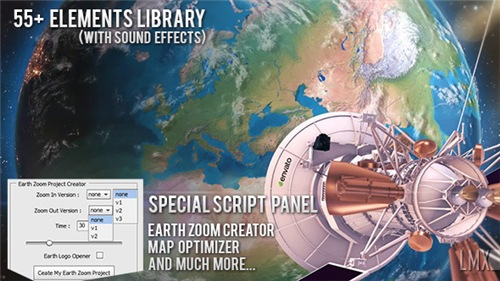 Earth Zoom Pro Kit - After Effects Project (Videohive)