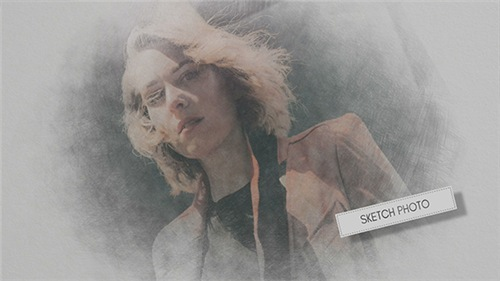 Hand Drawn Sketch Photo - After Effects Project (Videohive)