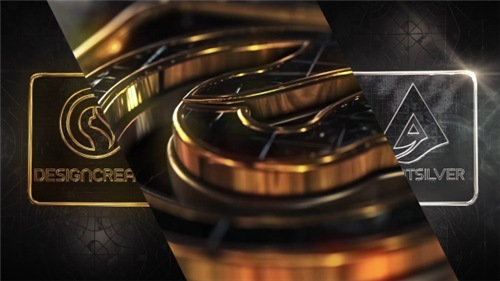 Diamonds Gold & Silver Logo - After Effects Project (Videohive)