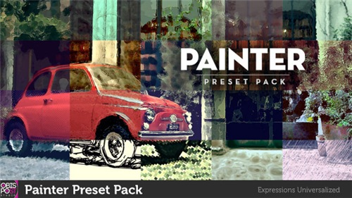 Painter Preset Pack - After Effects Project (Videohive)