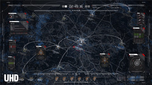HUD Map Pack - After Effects Project (Videohive)