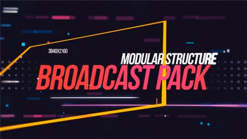 Broadcast Promo 4K - After Effects Project (Videohive)