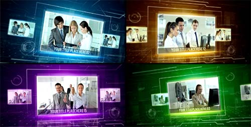 Hi-Tech Corporate Slideshow - After Effects Project (Videohive)