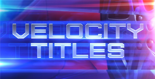 Velocity Titles - After Effects Project (Videohive)