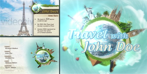 Travel Show Pack - After Effects Project (Videohive)